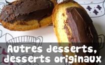 Recettes de Desserts originaux