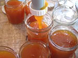 Mise en pot de la confiture