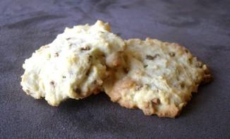 Cookies à la pistache et au chocolat blanc