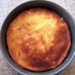 La tarte à la sortie du four