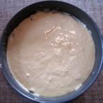 La tarte prête à être mise au four