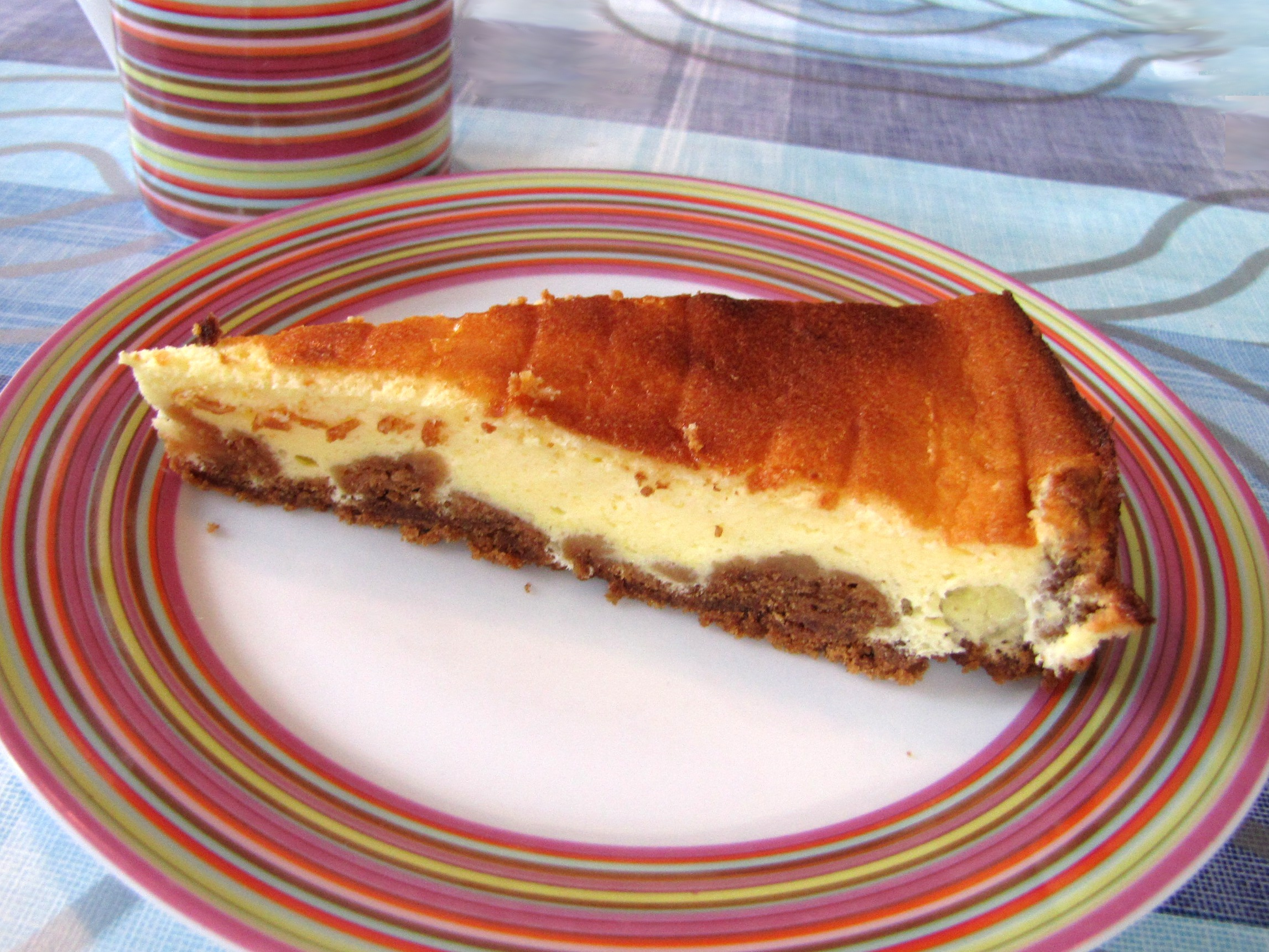 tarte au fromage blanc sp culoos recette facile. Black Bedroom Furniture Sets. Home Design Ideas