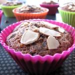 Muffins aux poires et pépites de chocolat