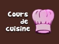 Vous souhaitez prendre des cours de cuisine ?