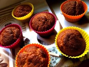 Les cupcakes avant glaçage