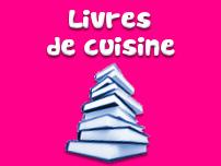 Notre sélection de livres de cuisine et de desserts