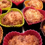 Muffins à la noix de coco et aux chocolat blanc