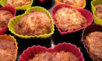 Muffins à la noix de coco et au chocolat blanc