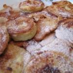 Les beignets aux pommes ou Apfelkiechle