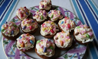 Cupcakes à la banane et beurre demi-sel