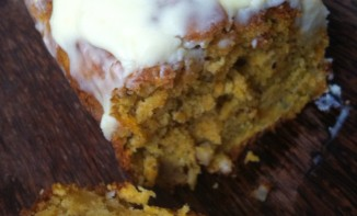 Carrot Cake : parfumé à la vanille, à la cannelle et au gingembre