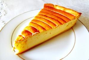 Tarte au fromage blanc, Käsekuchen