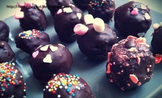 Pop Cakes chocolatés et colorés