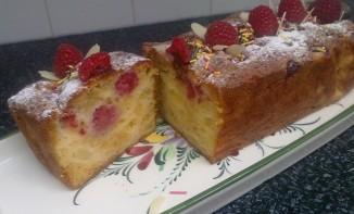 Cake Aux pommes et Framboises