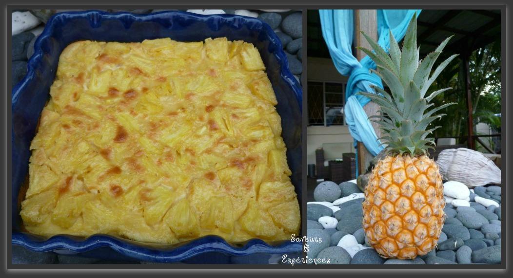 clafoutis 224 l ananas frais recettes de desserts plus de 1000 recettes sur cakesandsweets fr