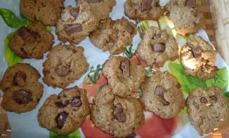 Cookies à la farine bise & éclats de chocolat au lait