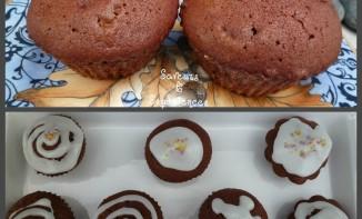 Cacao Cupcakes Américains