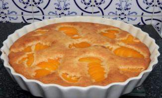 Gâteau Amandine aux Pêches