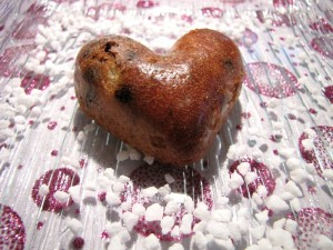 Coeur moelleux chocolat pistache