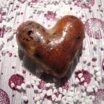 Coeurs moelleux pistache et chocolat