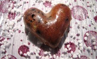 Coeur moelleux pistache chocolat