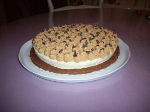 Gâteau chocolat blanc et Spéculoos