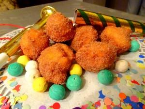 Beignets de carnaval au fromage blanc - Mardi gras