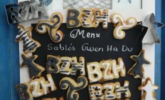Recette bretonne des sablés Gwen ha du
