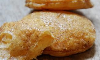Galettes pâte feuilletée au sirop d'érable