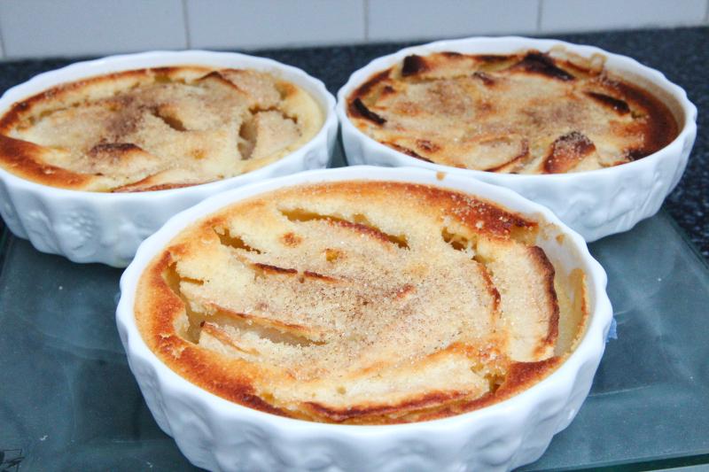 clafoutis aux pommes et cannelle recettes de desserts plus de 1000 recettes sur