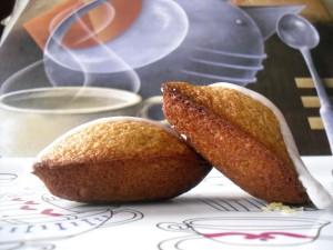 Madeleines saveur pain d'épices