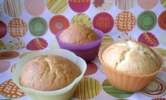 Muffins au yaourt , coeur de Spéculoos