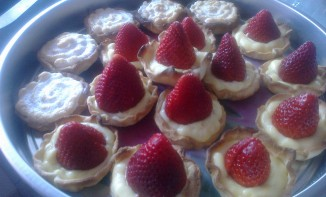 Tartelettes toutes simples aux fraises