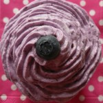Cupcakes myrtille