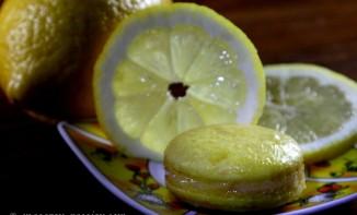 Macaron façon tarte au citron