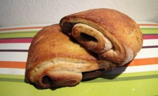 Petits pains au chocolat briochés