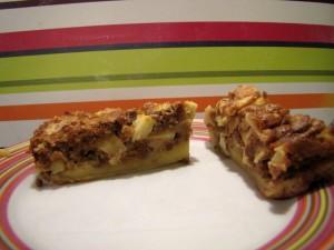 Clafoutis aux pommes, Spéculoos et beurre demi-sel
