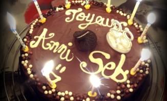 Gâteau d'anniversaire aux Oreos