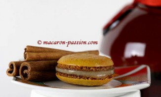 Macarons Grand Marnier et cannelle
