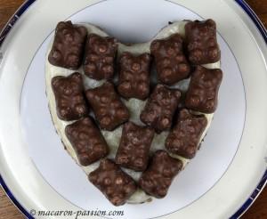 Entremet poire-chocolat
