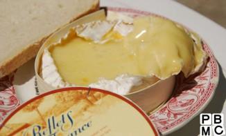 Dessert salé : le Camembert à la braise