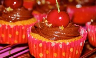 La recette des Cupcakes chocolat et cerise