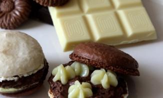 Macarons 3 chocolats