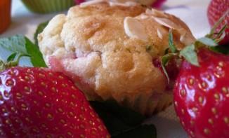 Muffins Fraises et menthe