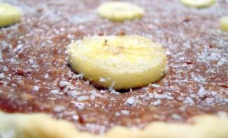 Tarte choco-coco banane