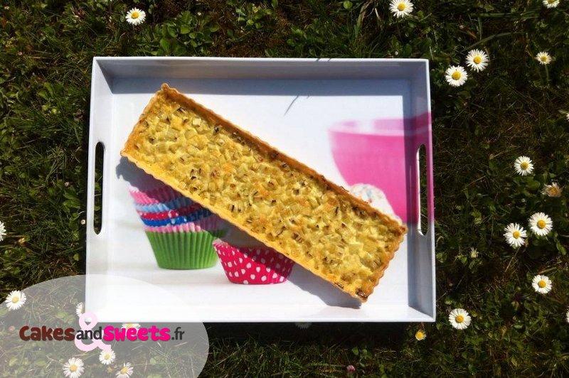 Tarte à la rhubarbe, idée dessert fête des mères