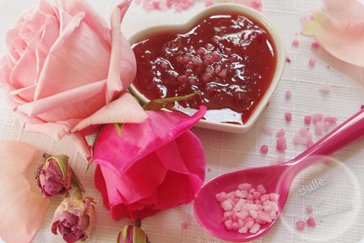 confiture de fraises la rose recettes de desserts plus de 1000 recettes sur. Black Bedroom Furniture Sets. Home Design Ideas