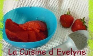 Recette de Sorbet à la fraise