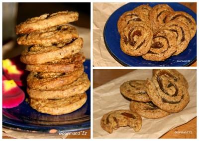 Biscuits crousti-fondants à la pâte de figue blanche