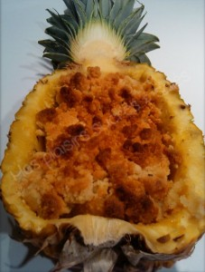 Recette crumble ananas